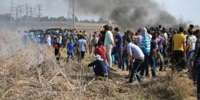 إصابتان بالرصاص الحي في تجدد المواجهات بقطاع غزة