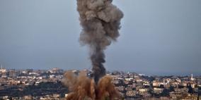 قصف إسرائيلي شرق مدينة غزة