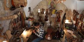 على أوتار شلالدة: يُصّنَعُ الكمان
