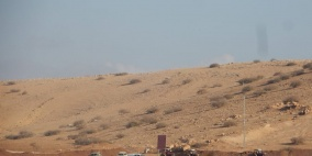 الاحتلال يداهم منطقة الرأس الاحمر في الاغوار
