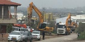 الاحتلال يهدم ثلاثة منازل في كفر قاسم