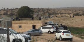 الشرطة الاسرائيلية تحاصر أم الحيران تمهيدا لهدم منازل