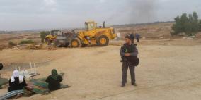 الاحتلال يهدم قرية العراقيب للمرة الـ110