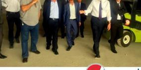 رئيس مجلس ادارة بنك فلسطين يزور مصنع بيبسي في اريحا