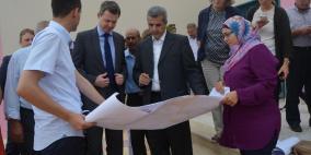 مسؤول رفيع من الإتحاد الأوروبي في زيارة إلى محافظة قلقيلية