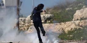مواجهات مع الاحتلال في عزون