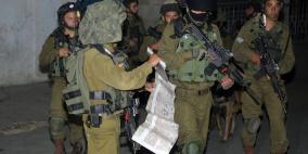 قوات الاحتلال تعتقل 11 مواطناً