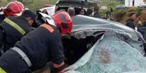 3 وفيات في حادثي سير منفصلين