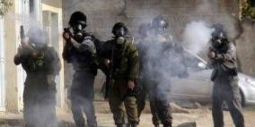 إصابات بالرصاص الحي والاختناق خلال مواجهات في مخيم العروب