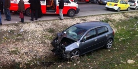 وفاة مواطن وابنه بحادث سير ذاتي