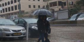 أجواء العاصفة في قلنديا وكفر عقب ورام الله