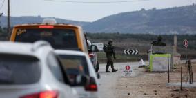 الاحتلال يشدد اجراءاته العسكرية في نابلس
