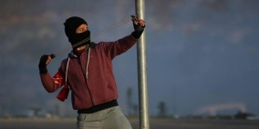 4 إصابات بالرصاص الحي في مواجهات نابلس