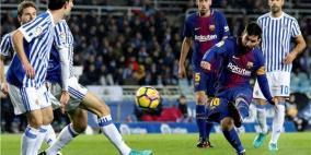 برشلونة يضرب سوسييداد برباعية في ليلة الريمونتادا