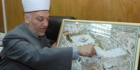 الاحتلال يمنع خطيب الأقصى من المشاركة في مؤتمر القدس بالقاهرة
