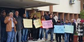 اعتصامات متزامنة لأتحاد الموظفين لدى وكالة الاونروا في لبنان