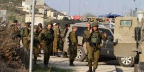 الاحتلال يواصل فرض حصار عسكري على بلدة حزما