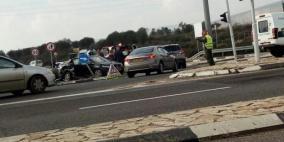 3 إصابات في حادث سير قرب كفر كنا