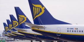 """""""راين إير"""" تشغل 14 خط طيران بين أوروبا والأردن بتكاليف مخفضة"""