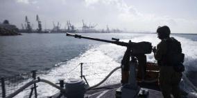 بحرية الاحتلال تعتقل صيادين من بحر غزة