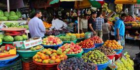 انخفاض مؤشر غلاء المعيشة بالضفة وارتفاعه في غزة