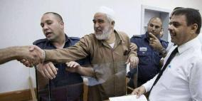 محكمة الاحتلال تمدد اعتقال الشيخ رائد صلاح