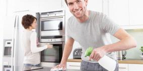 مساعدة زوجتك في البيت تحسن من صحتك