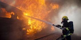 حريق في مبنى سكني بالناصرة