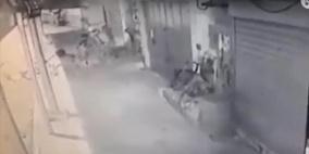 فيديو.. لحظة استشهاد الشاب ياسين السراديح