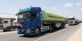 ادخال 40 شاحنة وقود مصري لغزة عبر معبر رفح