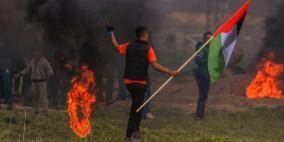 محدث - 22 اصابة بالرصاص الحي شرق غزة