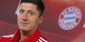 ليفاندوفسكي يعلن رغبته بالانتقال الى ريال مدريد