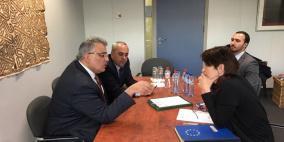 غنيم يوقع دعوة المانحين لإنشاء محطة تحلية مياه بغزة