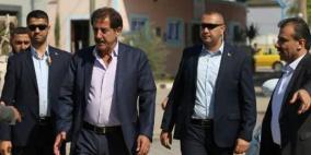 مدير عام المعابر يصل غزة للقاء الوفد المصري