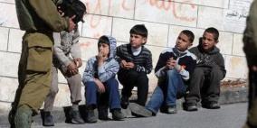هيئة الأسرى: ارتفاع وتيرة الاعتقالات في صفوف الأطفال