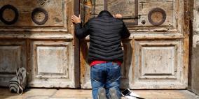 كنيسة القيامة مغلقة لليوم الثالث ودعوات لوقفة احتجاجية