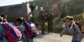 الاحتلال يمنع طلبة من التوجه إلى مدرستهم جنوب نابلس