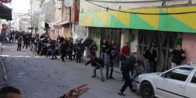 إصابتان بالرصاص الحي خلال مواجهات في مخيم الأمعري