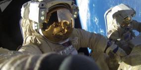 لحظة عودة 3 رواد فضاء إلى الأرض بعد قضاء 168 يوما