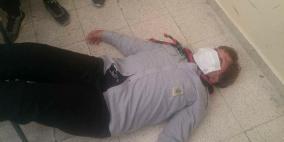 الاحتلال يطلق الغاز على طلبة مدرسة بالخليل ويصيب عديد منهم بالاختناق الشديد