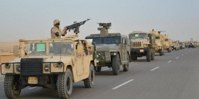الجيش المصري يعلن حصيلة جديدة لـعملية سيناء