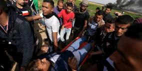 16 اصابة في مواجهات قطاع غزة