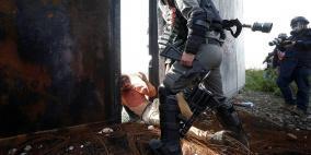 اصابات في بلعين والاحتلال يعتدي بوحشية على متضامنين اجانب
