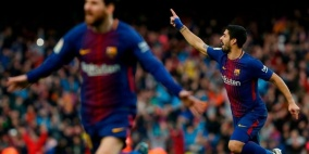 فيديو.. ميسي ينهي آمال اتلتيكو مدريد بالفوز بلقب الدوري