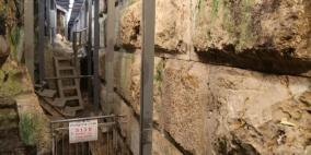 حفريات للمستوطنين أسفل منازل المواطنين في سلوان