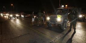اطلاق نار تجاه دورية لجيش الاحتلال قرب حوارة
