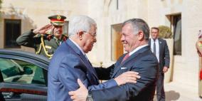 الرئيس عباس يلتقي العاهل الأردني غدا في عمان