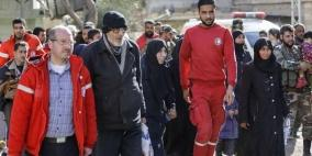 3 آلاف مدني يغادرون الغوطة الشرقية