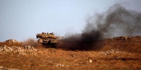 قصف اسرائيلي على غزة عقب تفجير عبوات على السياج الفاصل