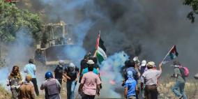 اصابات بمواجهات مع الاحتلال في كفر قدوم